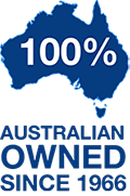 100% Australian Owned since 1966